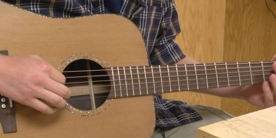 Professionals Test Out Brand New Guitars Made by MN State