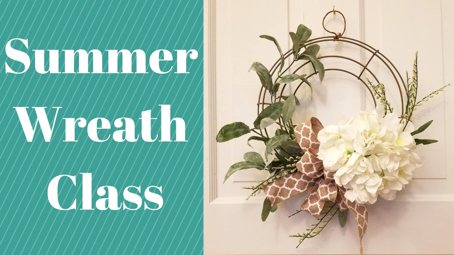 Summer Wreath Class Red Wing Artisan Collective Red Wing