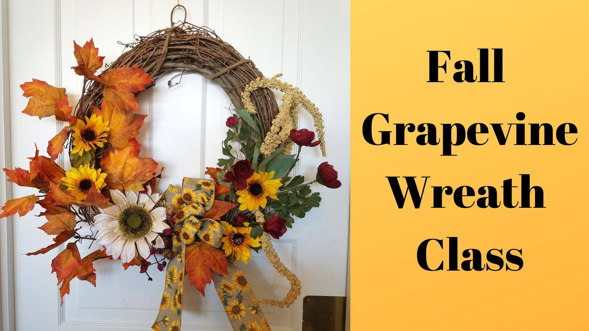 Fall Grapevine Wreath Making Class Red Wing Artisan Collective Red Wing Visitor And Convention Bureau